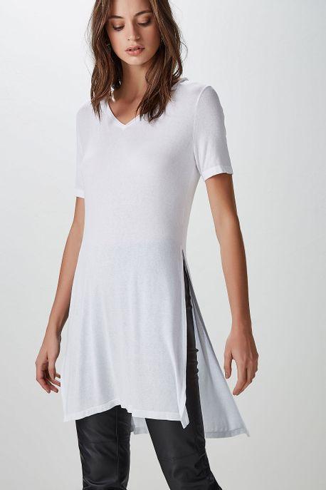 T-Shirt Fenda Basic Branco - P