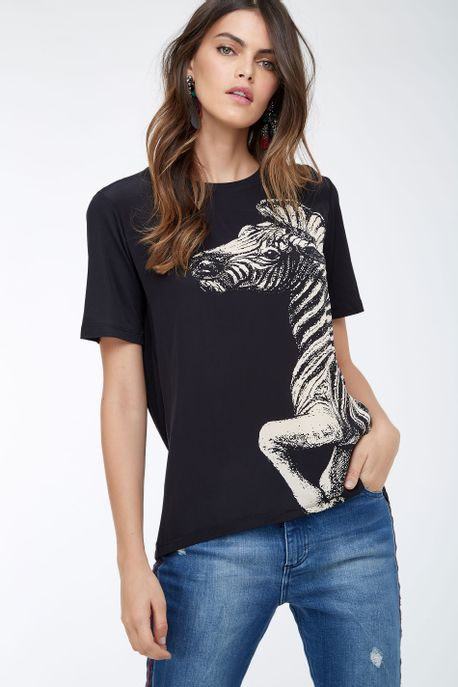 59120135_4762_1-T-SHIRT-FUN-ZEBRA-MAXI-BLACK